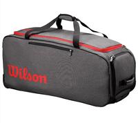Сумка Wilson Traveler Wheeled Coach Duffel (Серый/Красный)