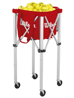 Корзина для мячей Wilson Teaching Cart 150 Red