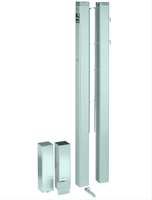 Столбы для сетки квадратные (Зеленый)